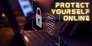 Cyber security means protecting yourself online.